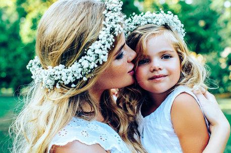 Lightroom Portrait Preset Bride with child