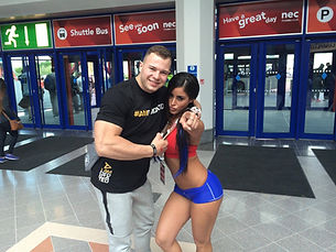 MMB Andrzej with Alysia Magen