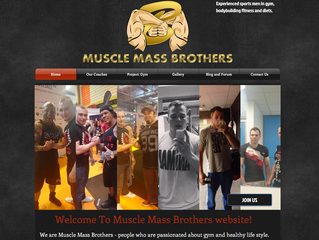 Muscle Mass Brothers Website and Social Media