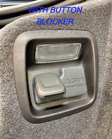 AGM C8 Frunk Button Blocker