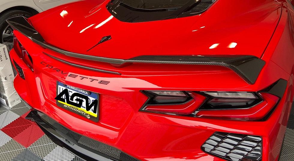 AGM C8 CORVETTE Visible Carbon Fiber Z51 Spoiler