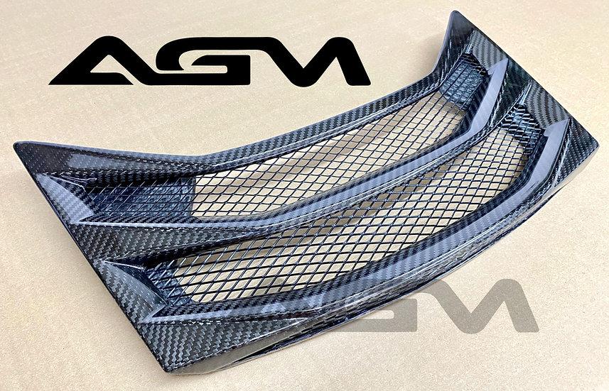AGM C8 Corvette Carbon Fiber HTC Rear Vent