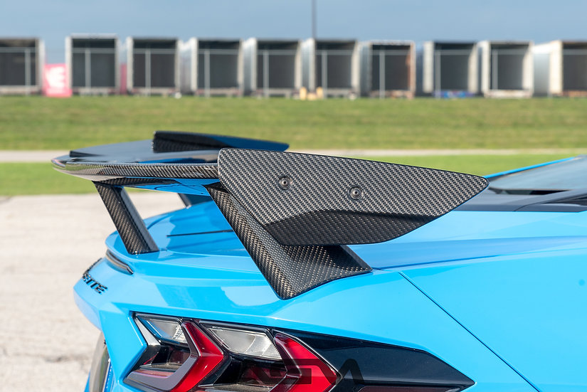 AGM C8 CORVETTE Carbon Fiber Winglets