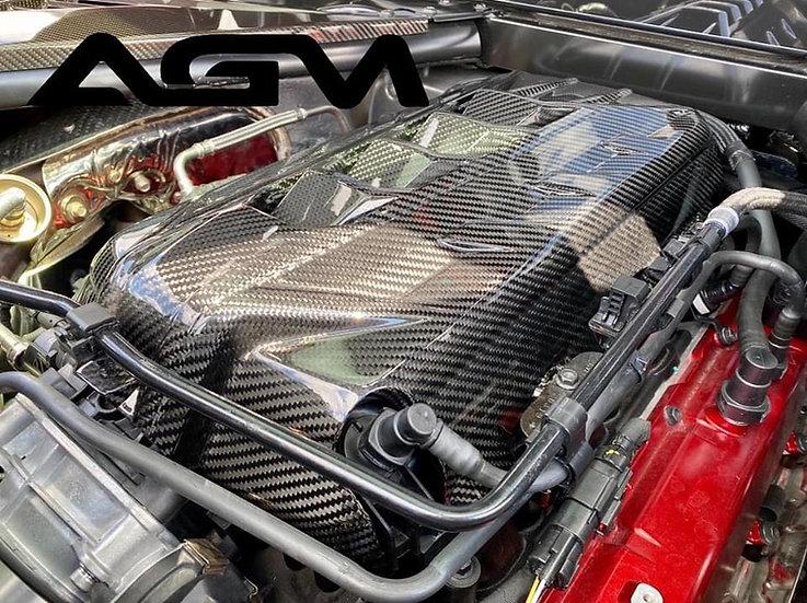 AGM C8 CORVETTE Carbon Fiber LT2 Engine Cover