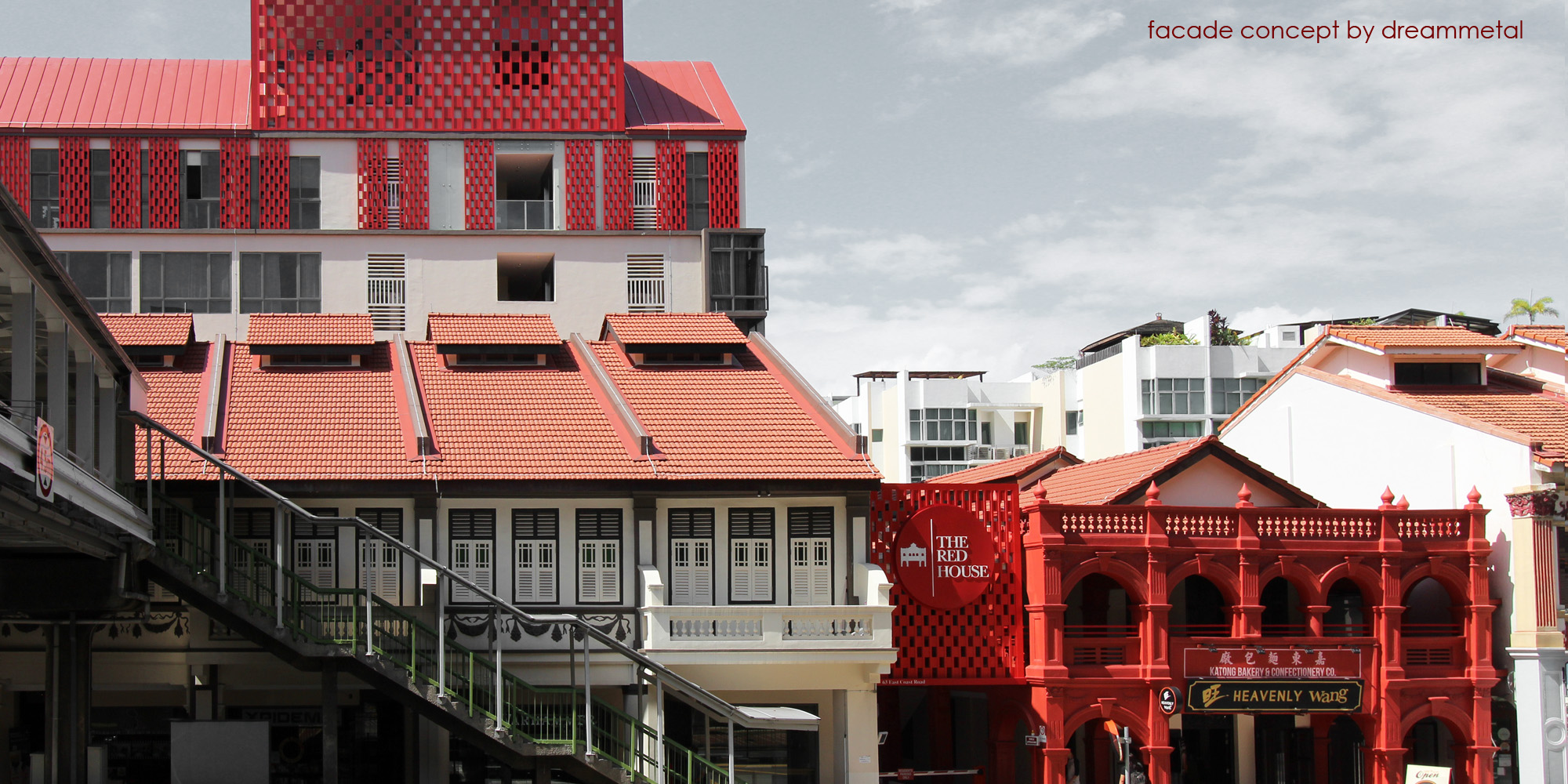 katong red house