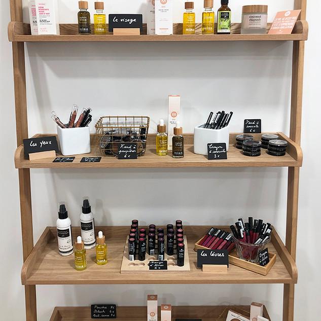 boutique salon magasin produits cosmétiq