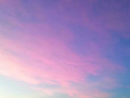 ☁五島の夕焼け雲☁