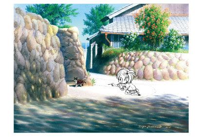 「嵯峨ノ島」五島百景×ばらかもん コラボレーション ポストカード