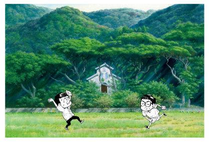 「江上天主堂」五島百景×ばらかもん コラボレーション ポストカード