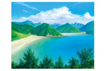 高浜と頓泊(五島百景)ポストカード