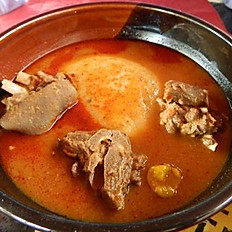 Fufu & Light (Pepper) Soup