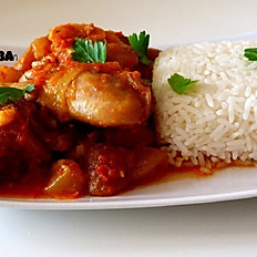 Jasmine Rice & Chicken Stew
