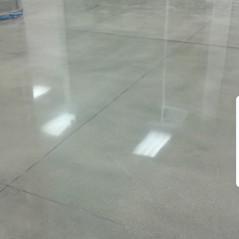 Polishing Natural Concrete