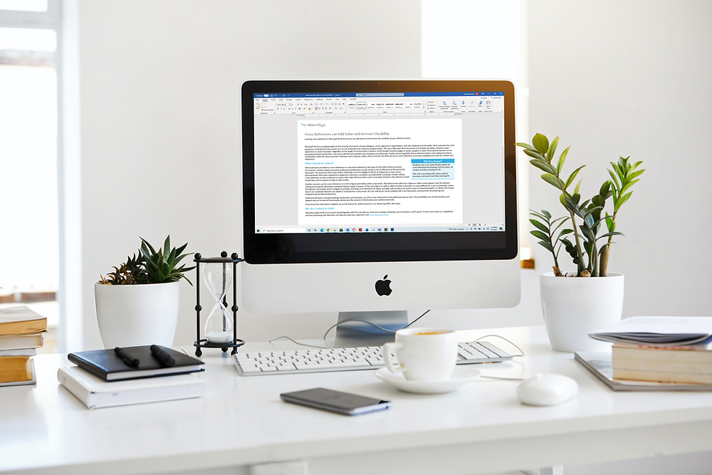 This image shows a computer screen with a Microsoft Word document open.