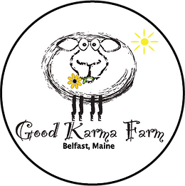 Good Karma Farm sheep logo