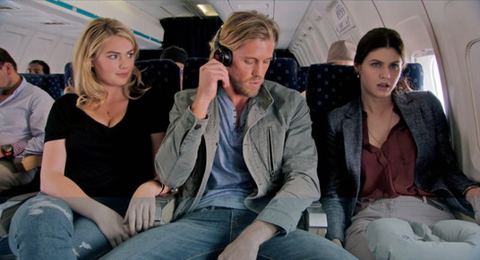 Kate Upton, Matt Barr & Alexandra Daddario (The Layover)