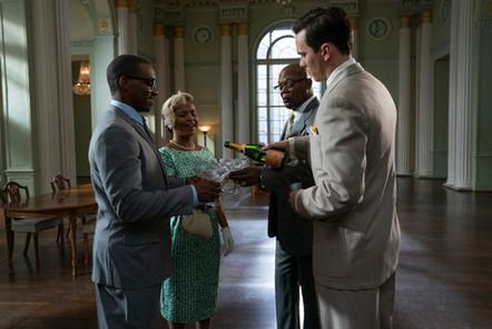Anthony Mackie, Nia Long, Samuel L Jackson & Nicholas Hoult ( The Banker)