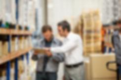 Logistikkonsult - Sim Logistics - Rundvandring i lagerverksamhet.