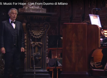 Music For Hope - Live From Duomo di Milano