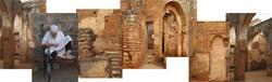 Post at Chellah, Morocco