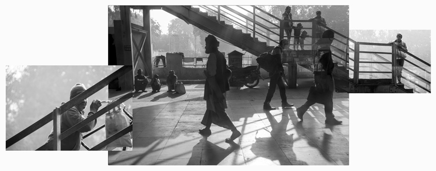 Transit in Agra