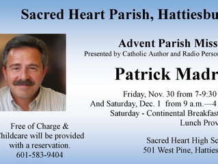 Sacred Heart - Advent Parish Mission