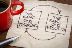 Rapid Context disrupting thinking
