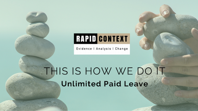 Unlimited Paid Leave