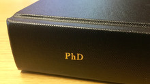 A completed PhD