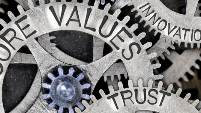 How valued are your organisation's values?