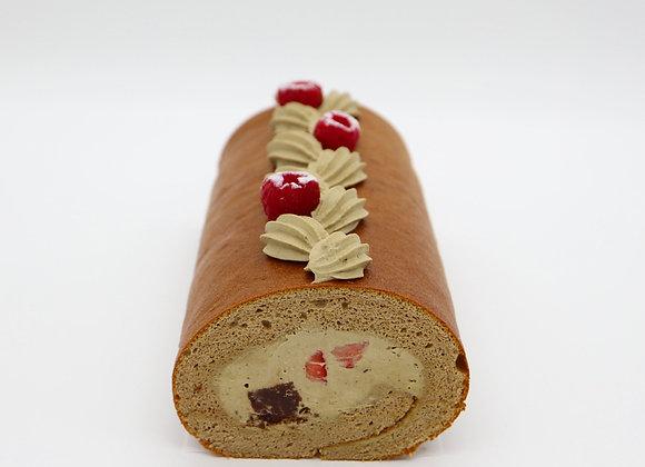 Hojicha Roll Cake