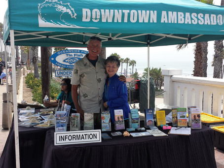 Show your love for Oceanside and become a downtown Ambassador this summer!
