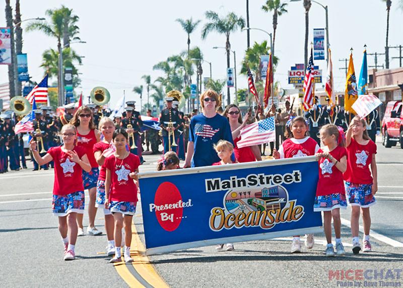 Oceanside Independence Day Parade