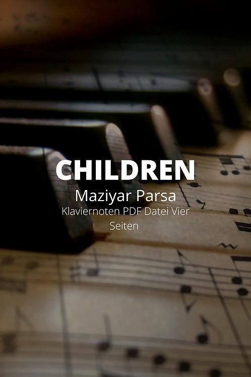 Children - Klaviernoten - PDF