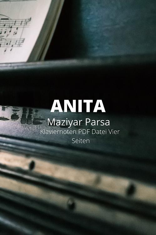 Anita - Klaviernoten - PDF