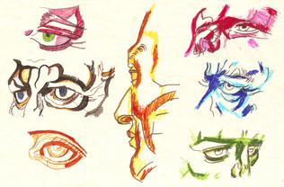 Estudio rostro humano