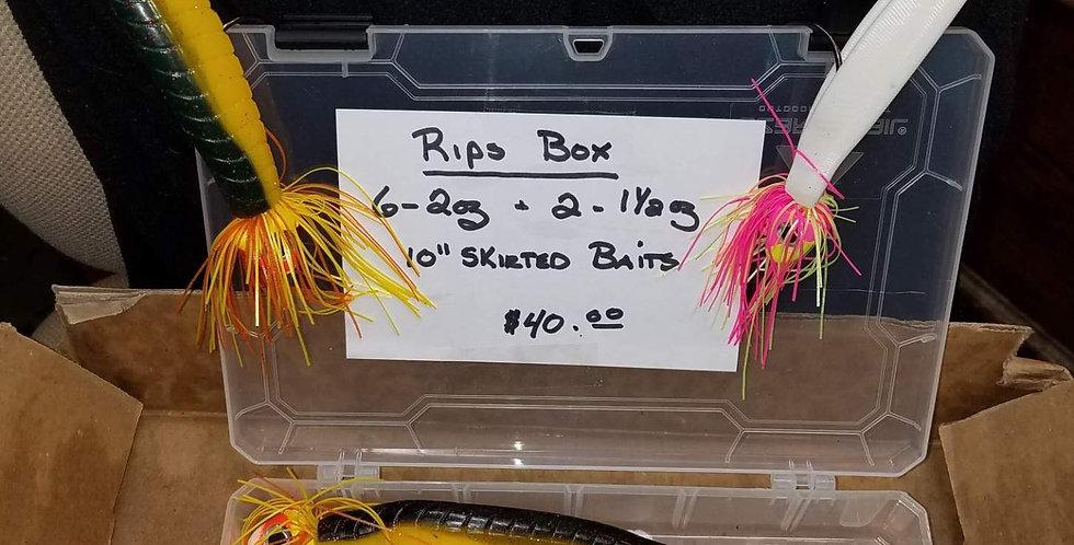 "10"" Pre Rigged Baits Box Set"