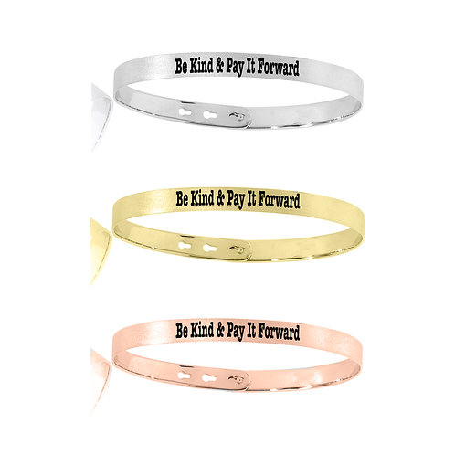 Be Kind & Pay It Forward Jordy Bracelet