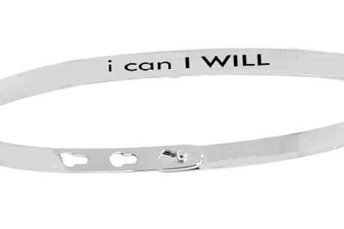 I CAN I WILL