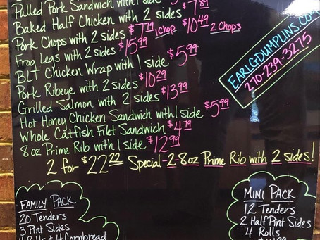 8/4/20 Daily Specials