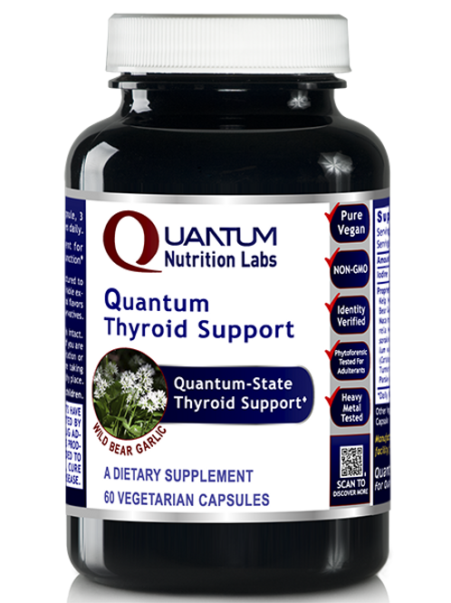 QNL - Thyroid Support, Quantum - 60 Capsules