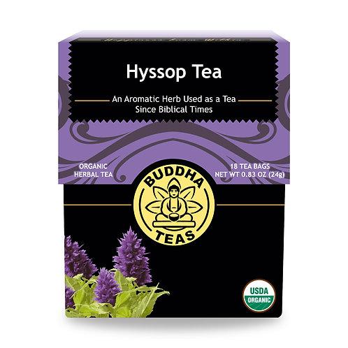 Hyssop Tea - Organic - 18 Tea Bags