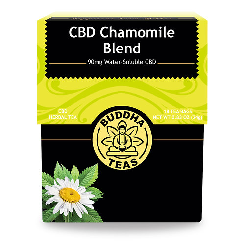 CBD Chamomile Blend Tea - Organic - 18 Tea Bags