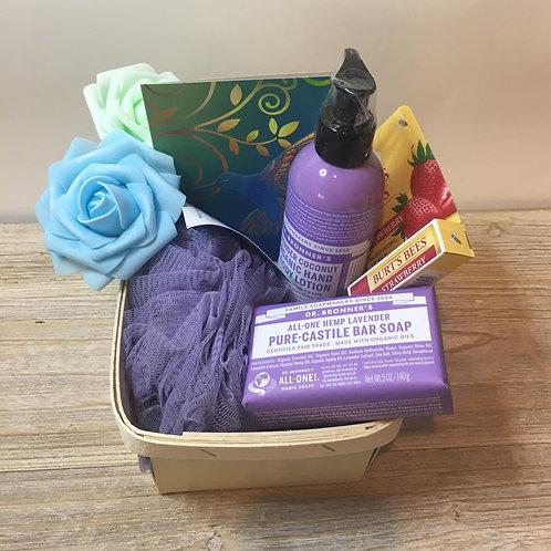 The Laguna Beach - Soap, Lotion, Pouf, Lip Balm
