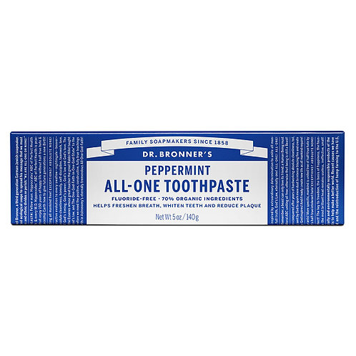 Dr. Bronner's Peppermint Toothpaste - 5 oz