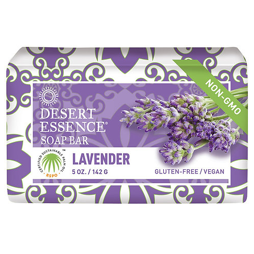 Desert Essence - Lavender Bar Soap - 5 oz