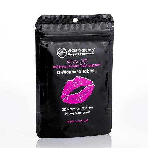 SexyAF D-Mannose Tablets - 30 Tablets