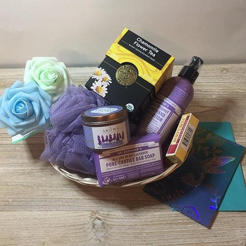 The Malibu - Tea, Soap, Pouf, Lotion, Candle, Lip Balm