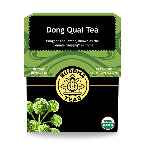 Dong Quai (Angelica) Tea - Organic - 18 Tea Bags