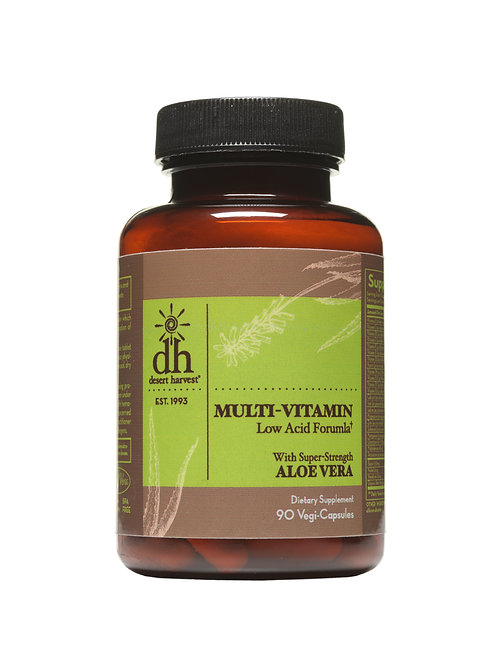 Multi-Vitamin Low Acid - 90 Capsules